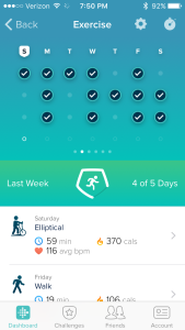 fitbit upload 201602