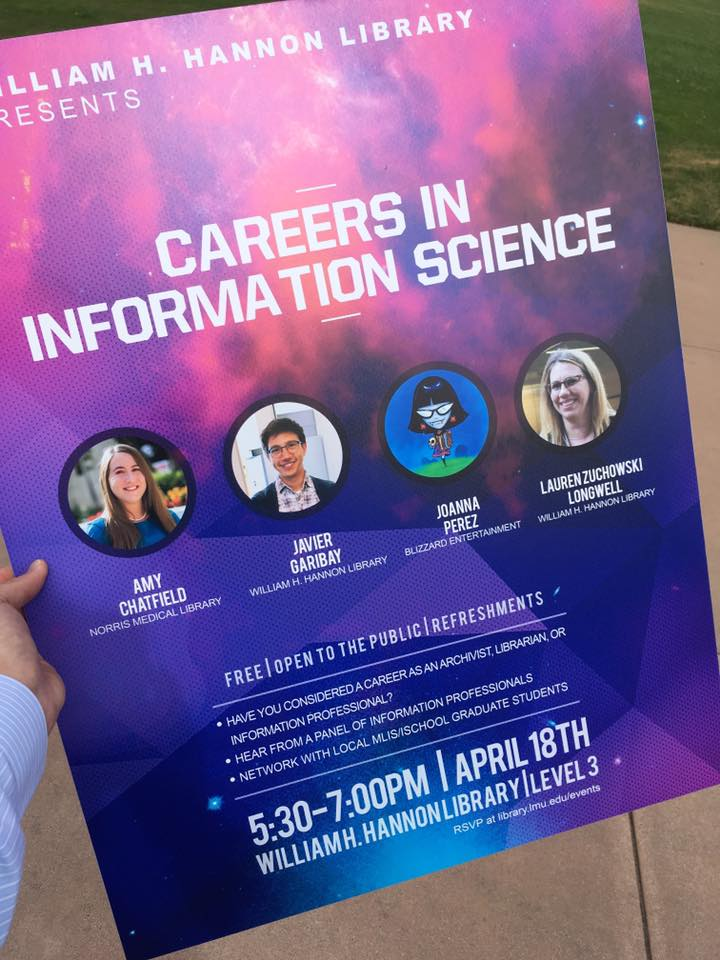 Careers in Info Science poster