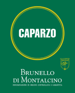 caparzo wine label