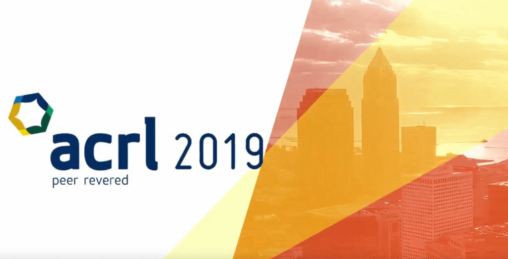 ACRL 2019 banner image