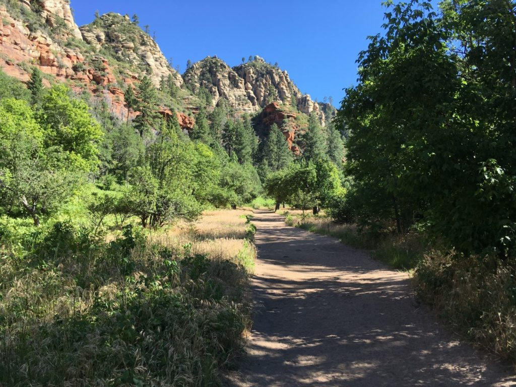 West Fork Trail in Sedona