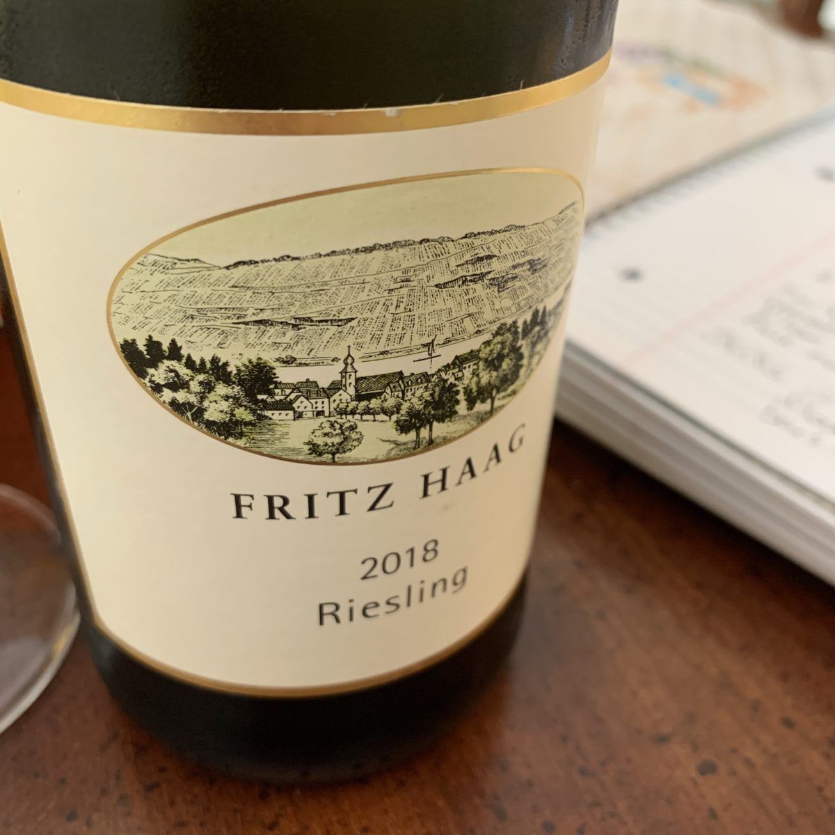 fritz haag riesling bottle